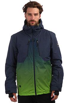 Куртка утепленная QUIKSILVER Miss Lime Green Block