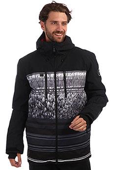 Куртка утепленная QUIKSILVER Mission Black Alpin