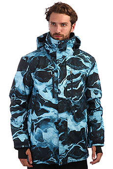 Куртка утепленная QUIKSILVER Mission Dress Blue Highline