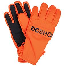 Перчатки сноубордические детские DC Franchise Yth Red Orange