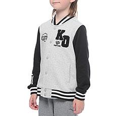 Толстовка свитшот детская ANTA 35718704 Серая