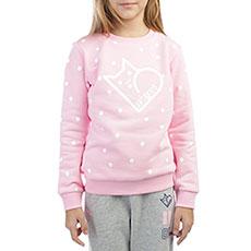 Толстовка классическая детская ANTA W36749705 Розовая