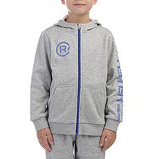 Толстовка классическая детская ANTA W35745705 Серая