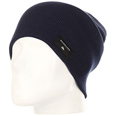 Шапка носок QUIKSILVER Cushy slouch Medieval Blue
