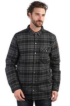 Куртка QUIKSILVER Wildca Plaid Grape Leaf