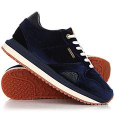 Кроссовки женские Pepe Jeans London Zion Velvet Синиe