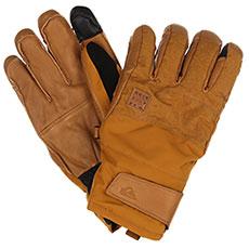 Перчатки сноубордические QUIKSILVER Squad Glove Golden Brown