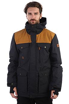 Куртка утепленная QUIKSILVER Raft Black