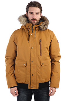 Куртка зимняя QUIKSILVER Arris Golden Brown