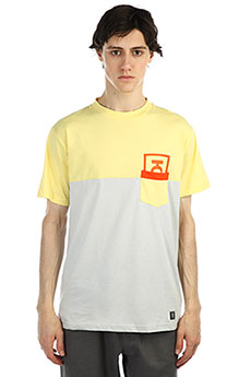 Футболка Юнион Pocket Yellow/Grey