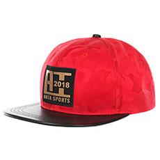 Бейсболка с прямым козырьком Унисекс ANTA 8988257 Красная