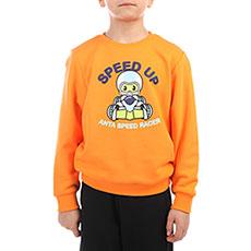 Толстовка классическая детская ANTA W358970 Оранжевая