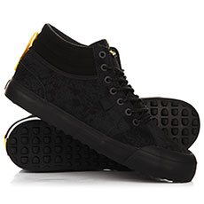 Кеды высокие DC Evan Smith Hi Wnt Black/Yellow