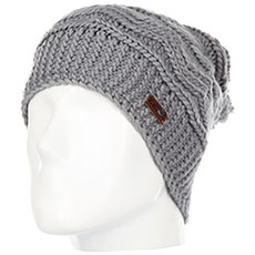 Шапка носок QUIKSILVER Winter Beanie Heather Grey