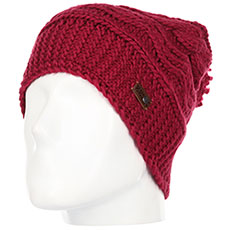 Шапка носок QUIKSILVER Winter Beanie Beet Red