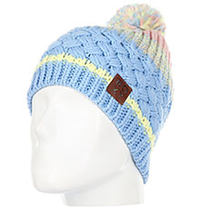 Шапка женская Roxy Hailey Beanie Powder Blue