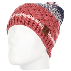 Шапка женская Roxy Hailey Beanie Dusty Cedar