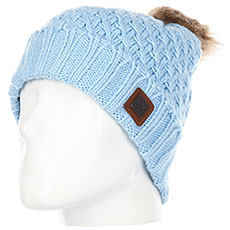 Шапка женская Roxy Blizzard Beanie Powder Blue