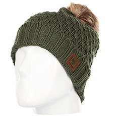 Шапка женская Roxy Blizzard Beanie Four Leaf Clover