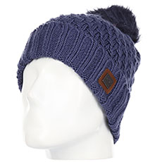 Шапка женская Roxy Blizzard Beanie Crown Blue