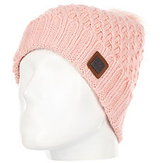 Шапка женская Roxy Blizzard Beanie Coral Cloud