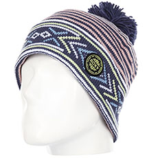 Шапка женская Roxy Joya Vale Beanie Crown Blue