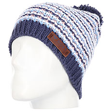 Шапка женская Roxy Anamudi Beanie Crown Blue