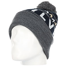 Шапка QUIKSILVER Summit Beanie Dress Blues