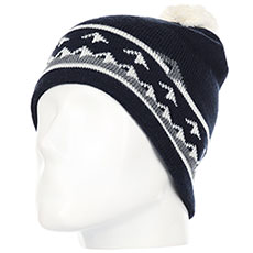 Шапка QUIKSILVER Barrow Beanie Dress Blues