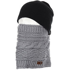 Шарф труба женский Roxy Winter Collar Warm Heather Grey