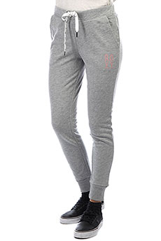 Штаны спортивные женские Roxy Hello The W Fla Heritage Heather