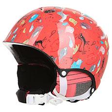Шлем для сноуборда детский Roxy Misty Girl Shell Pink