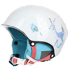 Шлем для сноуборда женский Roxy Misty Girl Bright White animals