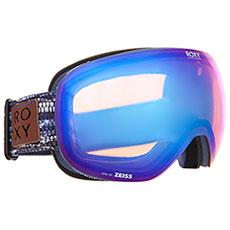 Маска для сноуборда женская Roxy Popscreen Crown Blue denim Str