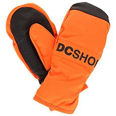 Варежки сноубордические детские DC Franchise Yth Red Orange