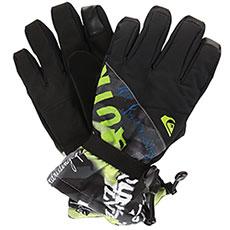 Перчатки сноубордические QUIKSILVER Mission Glove Black construct