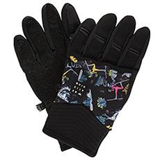 Перчатки сноубордические QUIKSILVER Method Glove Black a Day At The M