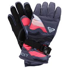 Перчатки сноубордические женские Roxy Rx Jetty Gloves Coral Cloud dusk Swi