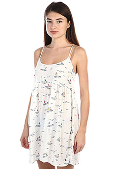 Платье женское Roxy Tropicalsundanc Marshmallow Boat Tri