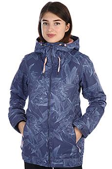 Куртка утепленная женская женская Roxy Valley Hoodie Crown Blue_washed