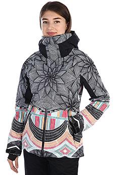 Куртка утепленная женская Roxy Frozen Flow True Black_pop Snow