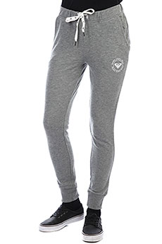 Штаны спортивные женские Roxy Hello The Charcoal Heather