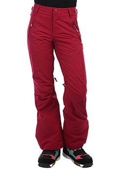 Штаны сноубордические женские Roxy Winterbreak Beet Red