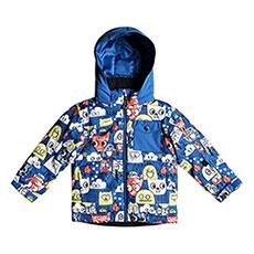 Куртка утепленная детская QUIKSILVER Little Miss Daphne Blue Animal
