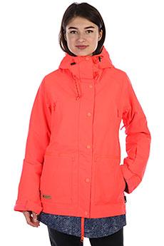 Куртка утепленная женская DC Riji Fiery Coral
