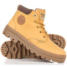 Ботинки высокие женские Palladium Plboss Lo Cuf W AMber Gold