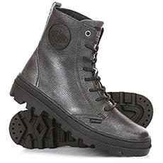 Ботинки высокие женские Palladium Plboss Of Lea W Black