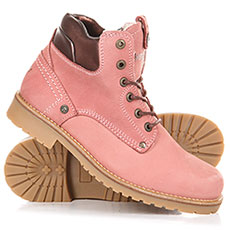 Ботинки зимние женские WRANGLER Yuma Lady Laminated Fur Winter Rose