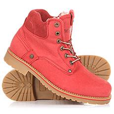 Ботинки зимние женские WRANGLER Yuma Fur S Red
