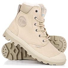 Ботинки зимние женские Palladium Pampa Sport Wps Safari
